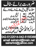 Mechanical Engineers, Production Supervisors Job Opportunity