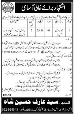 Oil Seed Research Station Jobs 2018