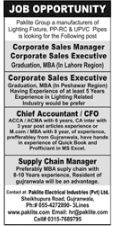 Corporate Sales Manager & Chief Accountant Jobs