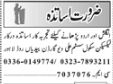 Teaching Job Opportunities 2018 In Lahore