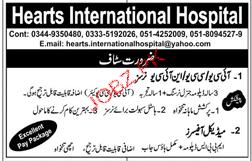 Hearts International Hospital Jobs