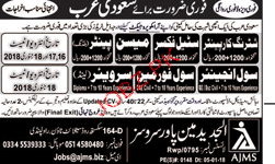 Shuttering Carpenters, Steel Fixers, Labors Wanted
