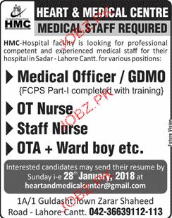 Heart Medical Center   Jobs