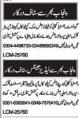 Computer Operator & Clerical Staff Job in Lahore