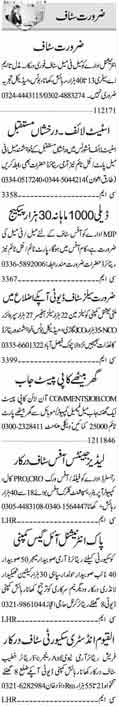 Office Staff wanted in Islamabad