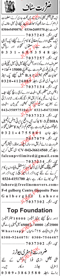 Telephone Operators, Sales Executives Job Opportunity