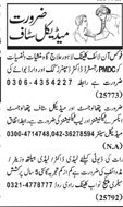 Medical Staff Jobs Open
