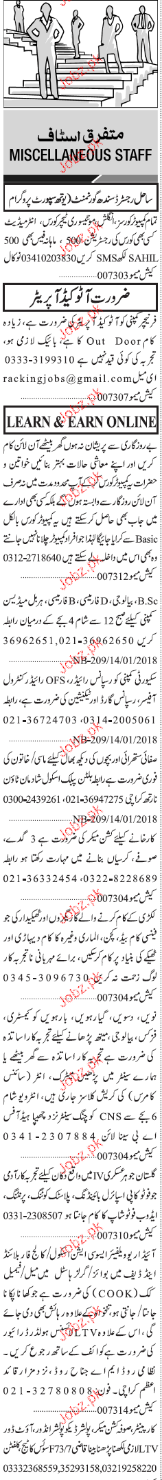 Auto Cad Operators, Data Entry Operators Job Opportunity