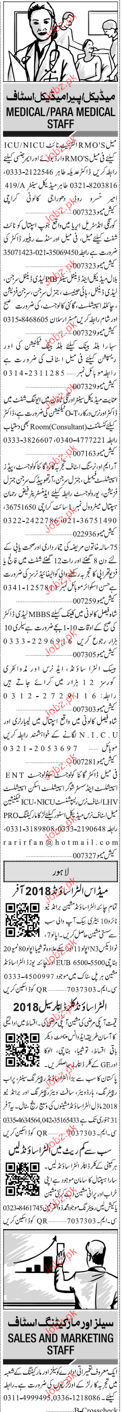 Medical Officers, Lady Dental Surgeons Job Opportunity