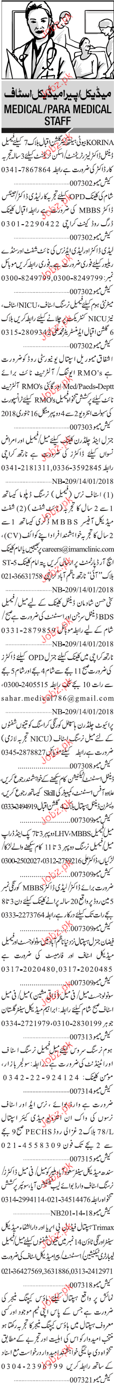 Dental Doctors, MBBS Doctors Job Opportunity