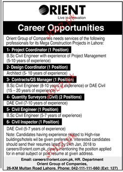 Orient Electronics Pvt Ltd Jobs