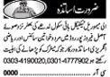 Teacher Jobs Opportunity in Lahore