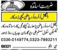 Teacher Jobs Open in Lahore