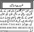 Teaching Staff Wanted For School in Multan