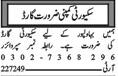 Security Guards Job Opportunities in Multan