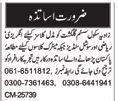 Teachers Jobs For School In Multan