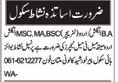 Nishat School Need Teaching Staff