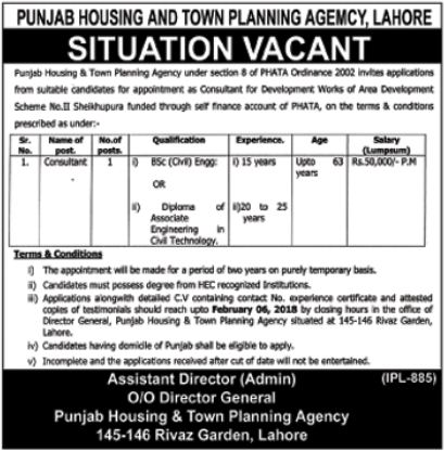 LWMC Jobs 2018 for Project Head & Assistant Manager