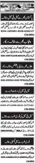 Miscellanceous Job Opportunities In Islamabad Pakistan