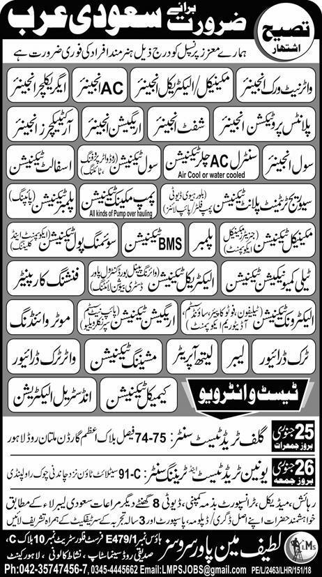 Civil Engineers, Shift Engineers, Irrigation Engineer Wanted