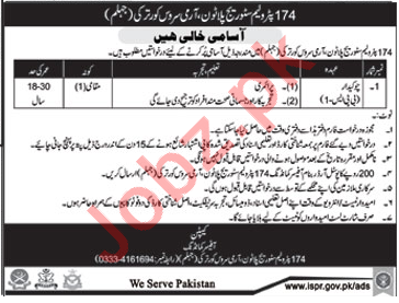 174 Petroleum Storage Platoon Required Chowkidar 2018