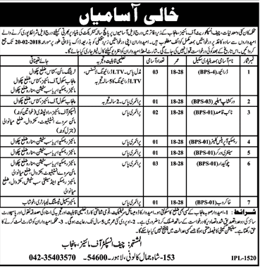 Mines & Minerals Department Jobs
