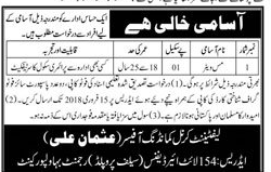 154 Light Air Defence, Pakistan Army Jobs