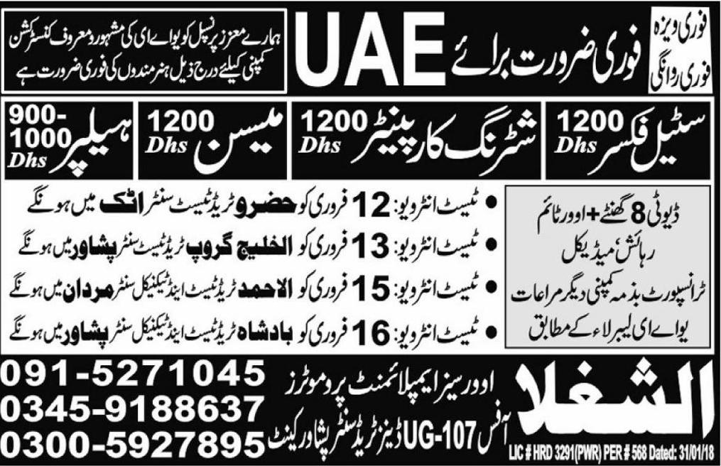 Jobs In Travel Agency Karachi