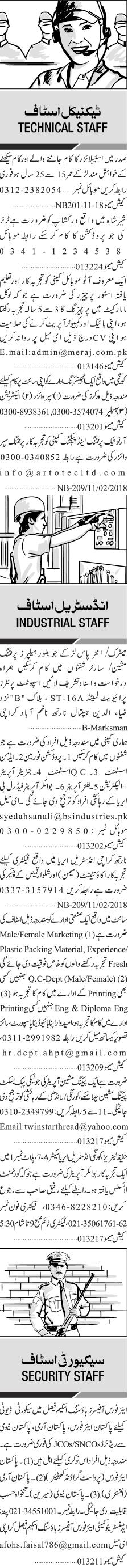Supervisors, Electricians, Helpers, Auto Mechanics Wanted