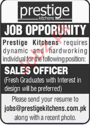 Sales Officer Jobs in Karachi