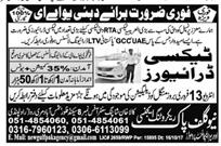 Taxi Drivers Job in Famous RTA Dubai Taxi