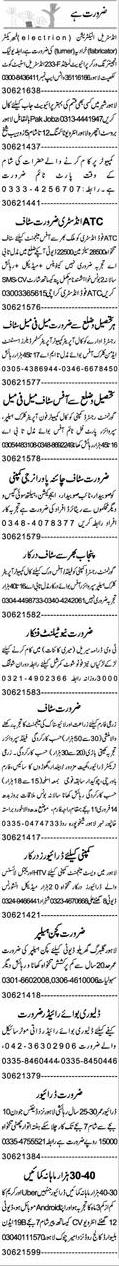 Electricians, Fabricators, Computer Operators Wanted