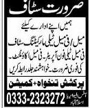 Male / Female Telemarketing Staff, Telephone Operator Wanted
