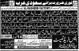 Water Jet Operators, Auto Electricians, AC Technician Wanted