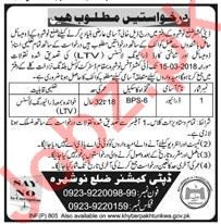 Deputy Commissioner Office Jobs LTV Driver 2018