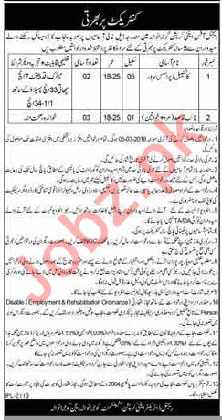 Anti Corruption Jobs 2018 Constables & Naib Qasid