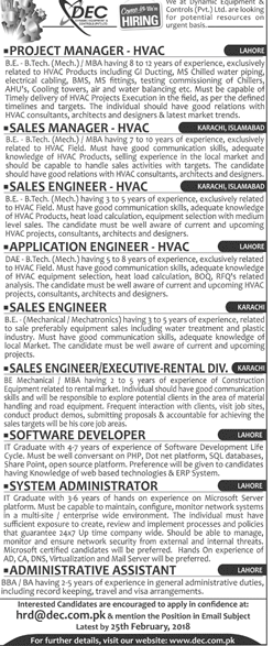 sales manager job