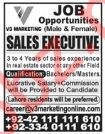 V3 Marketing Lahore Jobs Sales Executives