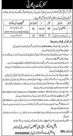 Regional Directorate Anti Corruption Establishment Jobs