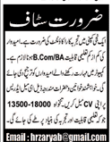 Accountant Job in A Private Company