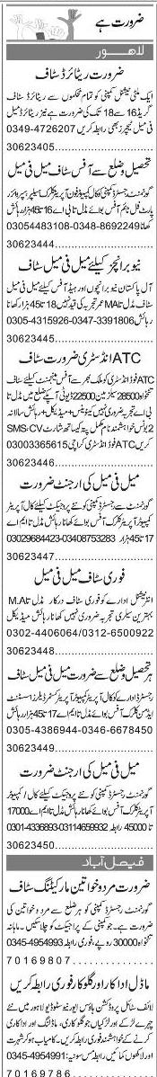 Computer Operators, Phone Operators, Clerks Wanted