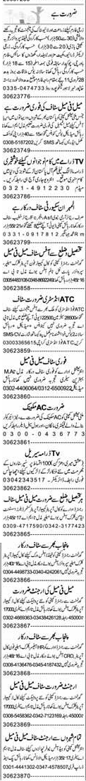 Field Supervisors, Chawkidars, Tractor Drivers Wanted