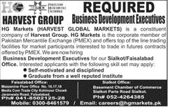 Harvest Group  Business Development Executives Jobs