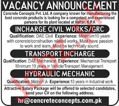 Concrete Concepts Pvt Ltd Jobs 2018