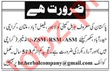 Sales Managers, Order Bookers Jobs 2018