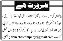 Zonal Sales Manager, Regional Sales Manager Wanted