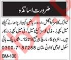Teaching Staff required for Misaali Public School