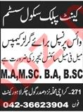 Cantt Public School System Lahore Jobs 2018 Vice Principal