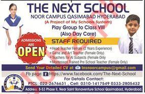 The Next School TNS Job Opportunities