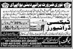 Taxi Drivers Jobs in Dubai 2018